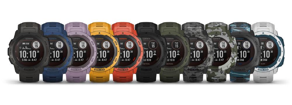 Garmin Instinct Solar - Издръжливи GPS аутдор часовници със соларно зареждане
