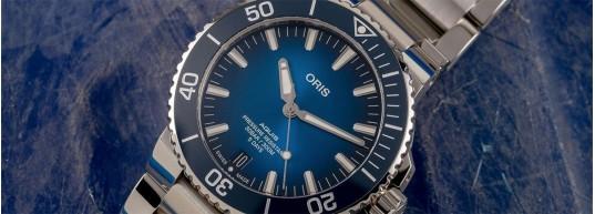 Дебютът на механизъм Calibre 400 в моделите Oris Aquis Date Diver