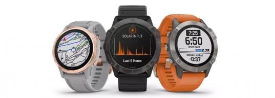 Garmin Fenix 6 SOLAR - Мултиспорт GPS часовници със соларно зареждане