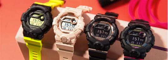 НОВО: G-Shock GMD-B800 - фитнес тракер за дамите