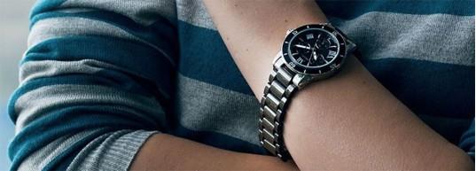 Топ 5 дамски часовника с черна керамика до 450 лева