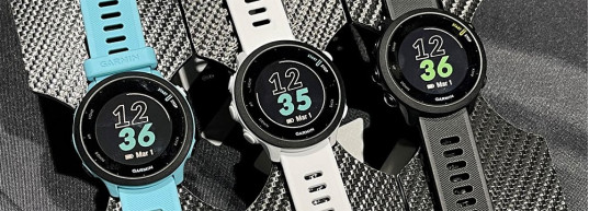 НОВО: Garmin Forerunner 55 – малък и мощен часовник за тичане