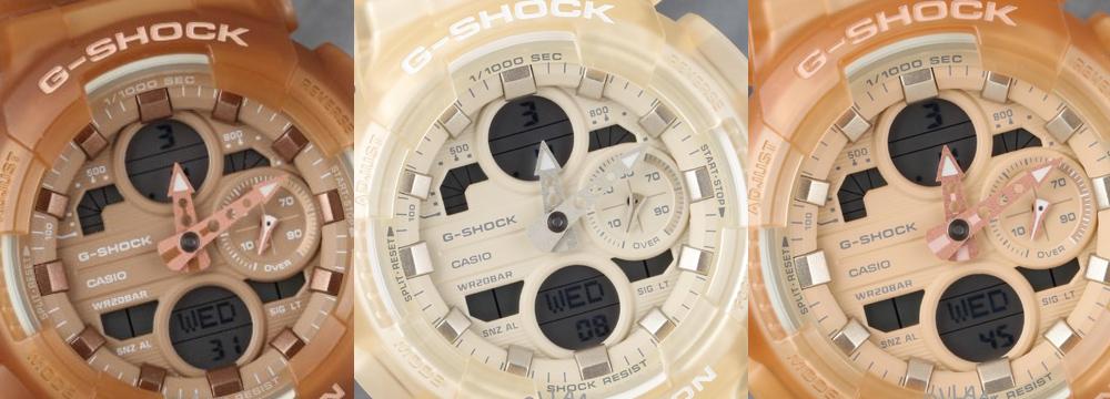 Ревю: G-Shock GMA-S140NC Series: Frosted Translucent в бежаво-кафяви нюанси