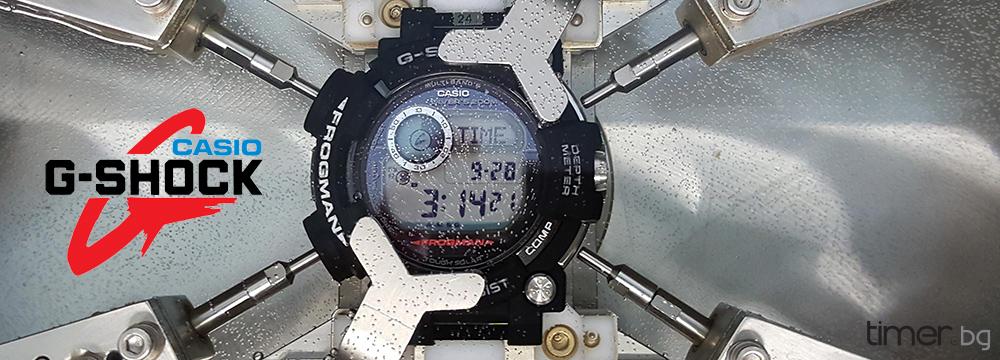 Casio разработва G-Shock Smartwatch