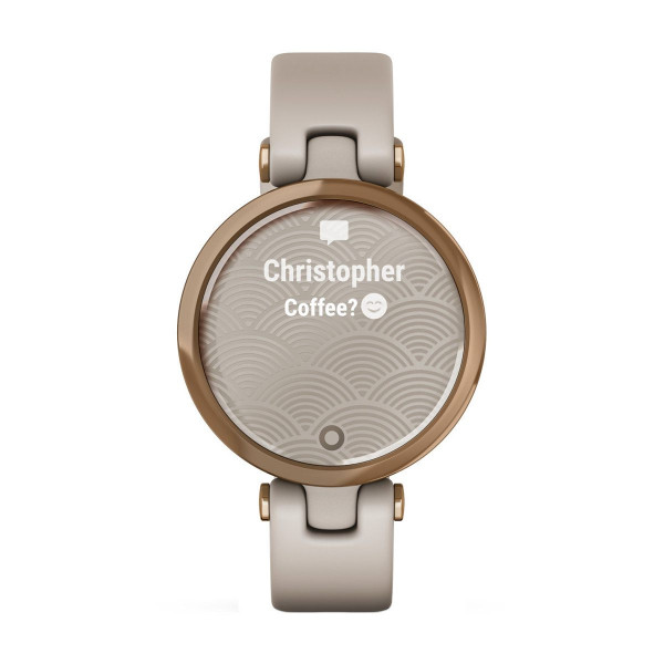 Часовник Garmin Lily Sport Rose Gold/Light Sand 010-02384-11