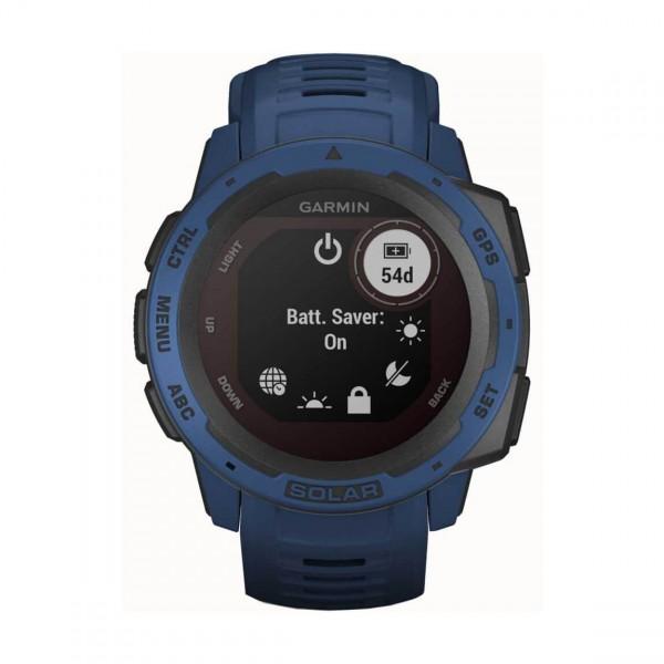 Часовник Garmin Instinct Solar Tidal Blue 010-02293-01