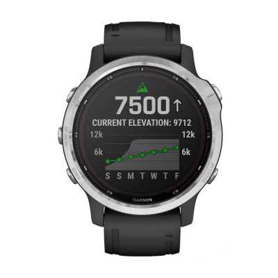 Часовник Garmin Fenix 6S Solar Silver/Gray 010-02409-00