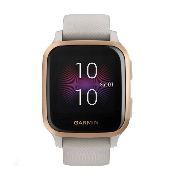 Часовник Garmin Venu Sq Music Light Sand/Rose Gold 010-02426-11