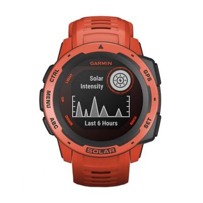 Часовник Garmin Instinct Solar Flame Red 010-02293-20