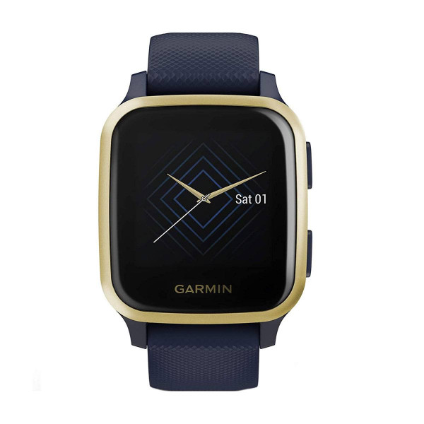 Часовник Garmin Venu Sq Music Navy/Light Gold 010-02426-12