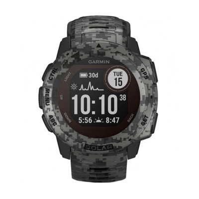 Часовник Garmin Instinct Solar Graphite Camo 010-02293-05