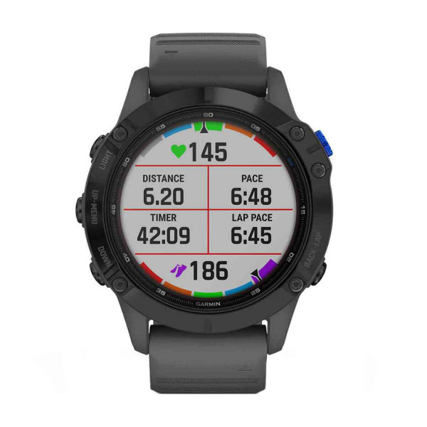 Часовник Garmin Fenix 6 Pro Solar Black/Slate Gray 010-02410-11