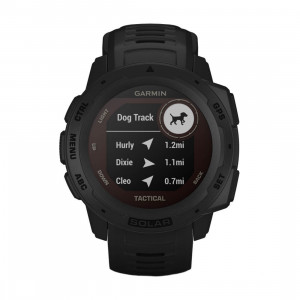 Часовник Garmin Instinct Solar Tactical Black 010-02293-03