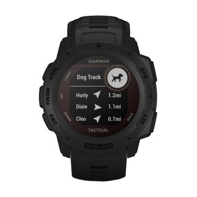 Часовник Garmin Instinct Solar Tactical Black 010-02293-03