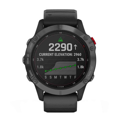 Часовник Garmin Fenix 6 Pro Solar Slate Gray/Black 010-02410-15