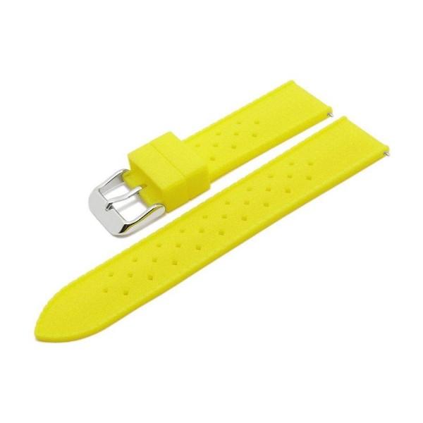 Силиконовa каишкa 18 мм, жълта, Meyhofer MY2CSMK8008-18P-9A