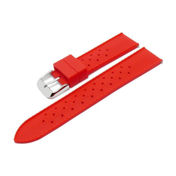Силиконовa каишкa 18 мм, червена, Meyhofer MY2CSMK8008-18P-4A