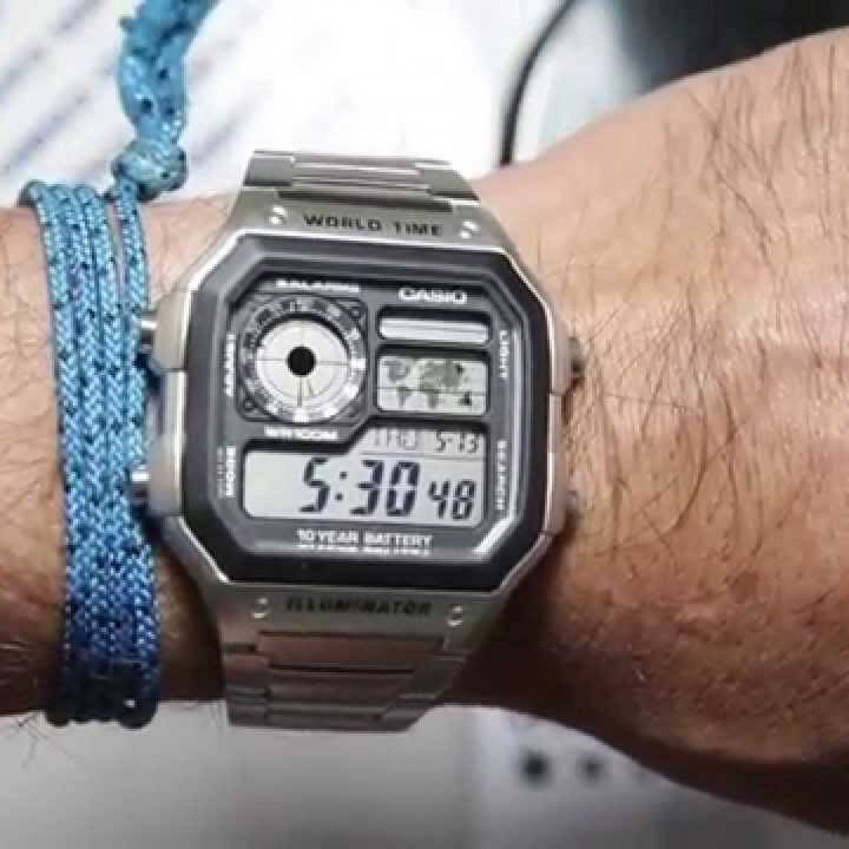 Часовник Casio AE-1200WHD-1AEF