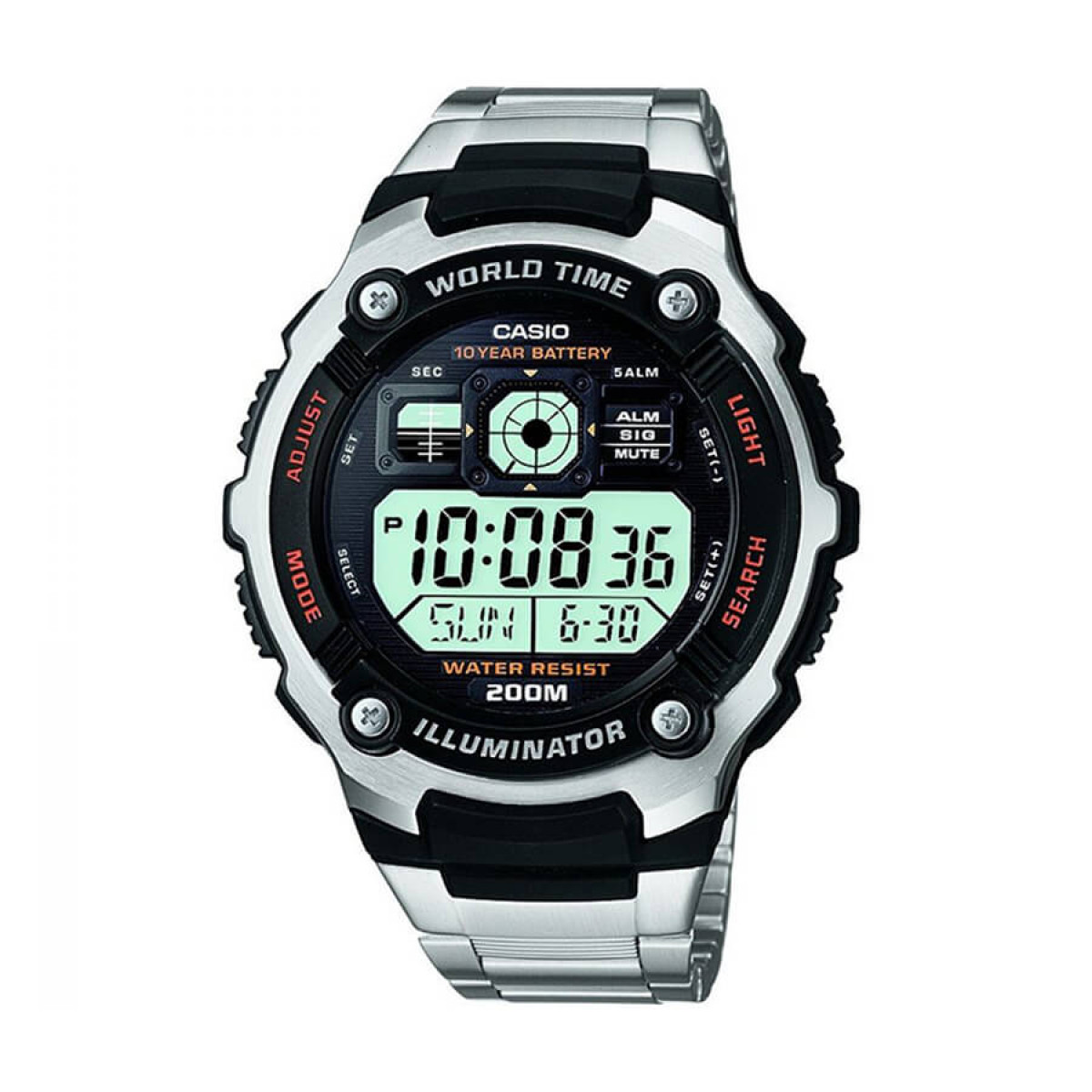 Часовник Casio AE-2000WD-1A