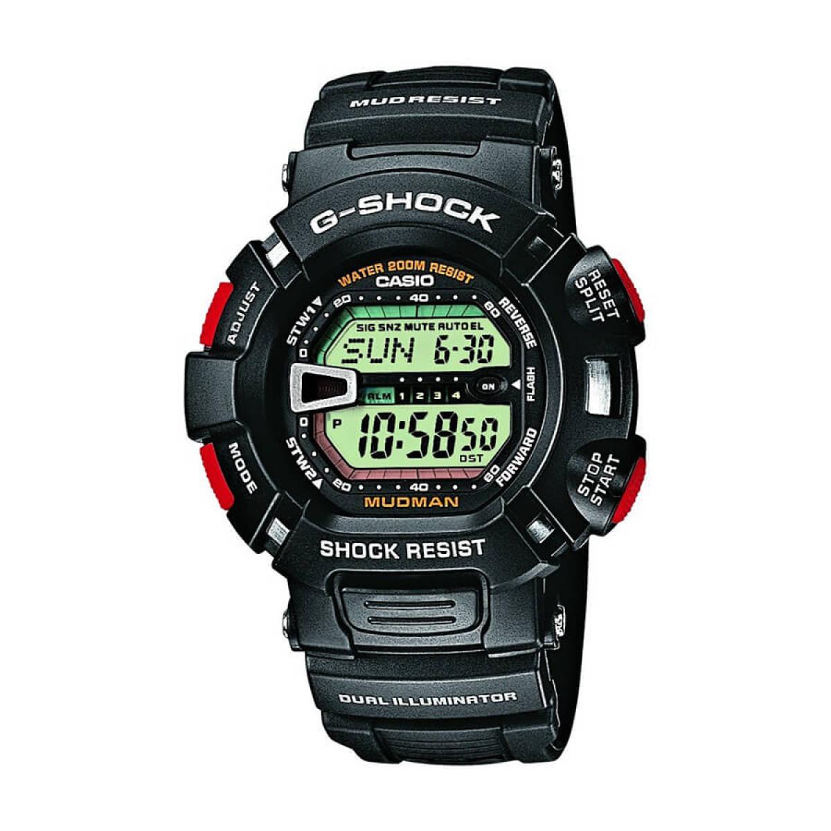 Часовник Casio G-Shock Mudman G-9000-1VER