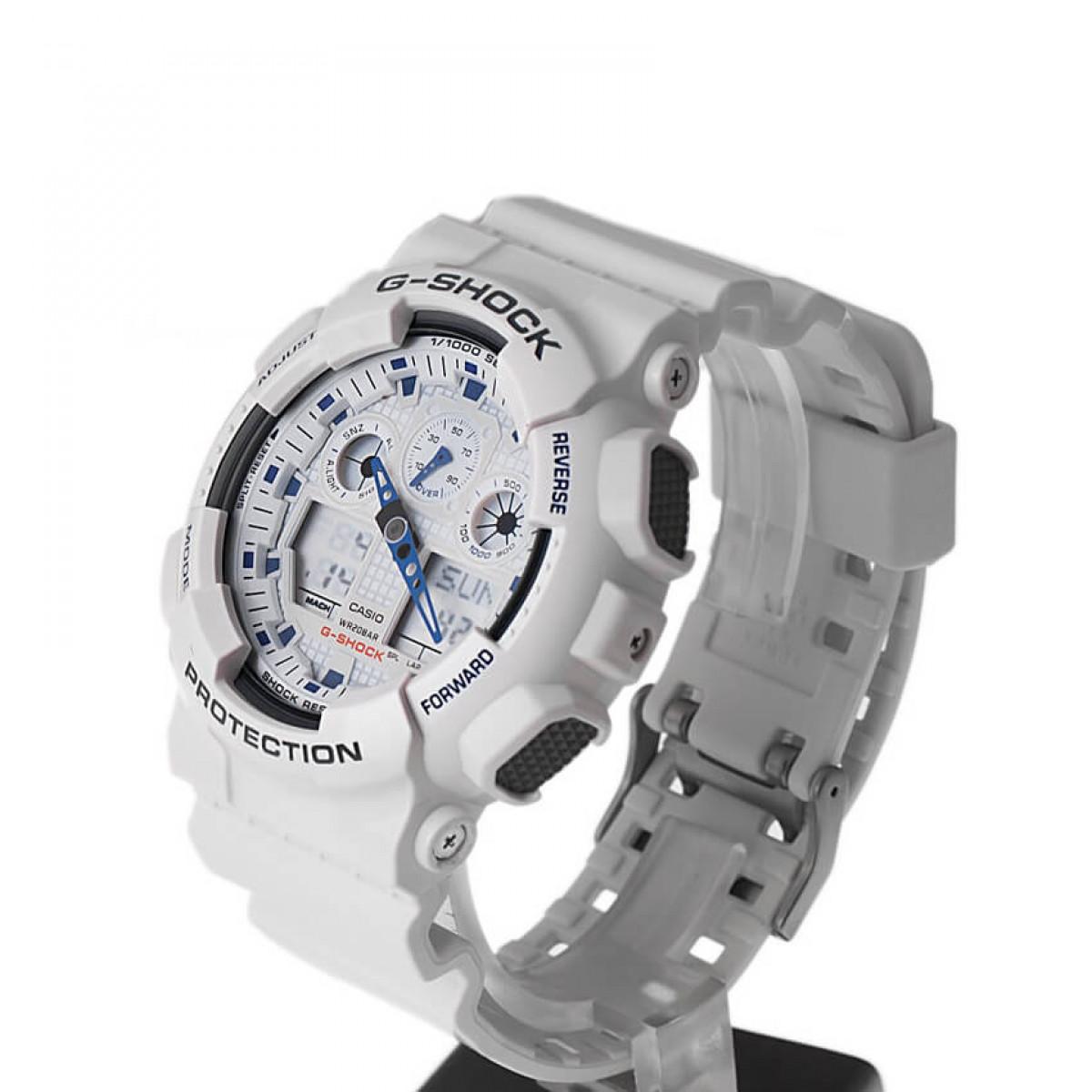 Часовник Casio G-Shock GA-100A-7AER