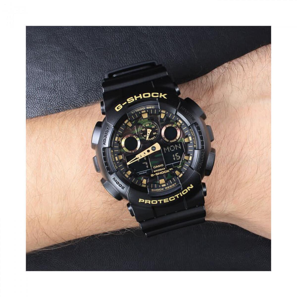 Часовник Casio G-Shock GA-100CF-1A9ER