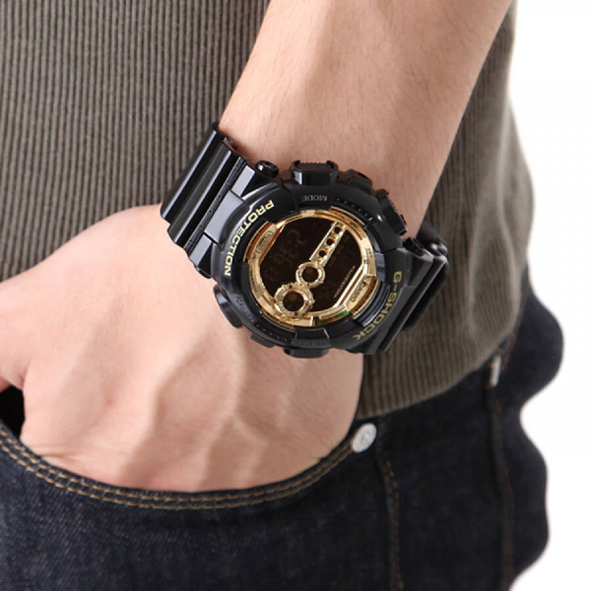 Часовник Casio G-Shock GD-100GB-1ER