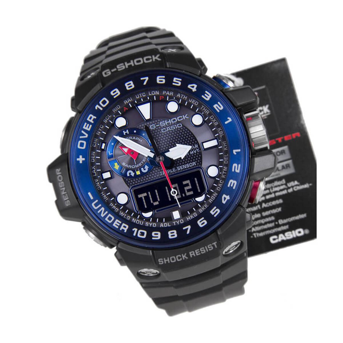 Часовник Casio G-Shock Gulfmaster GWN-1000B-1BER