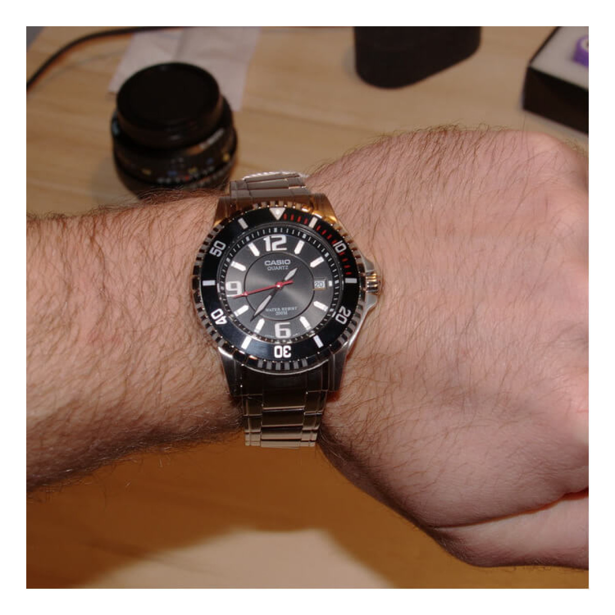 Часовник Casio MTD-1053D-1AVES