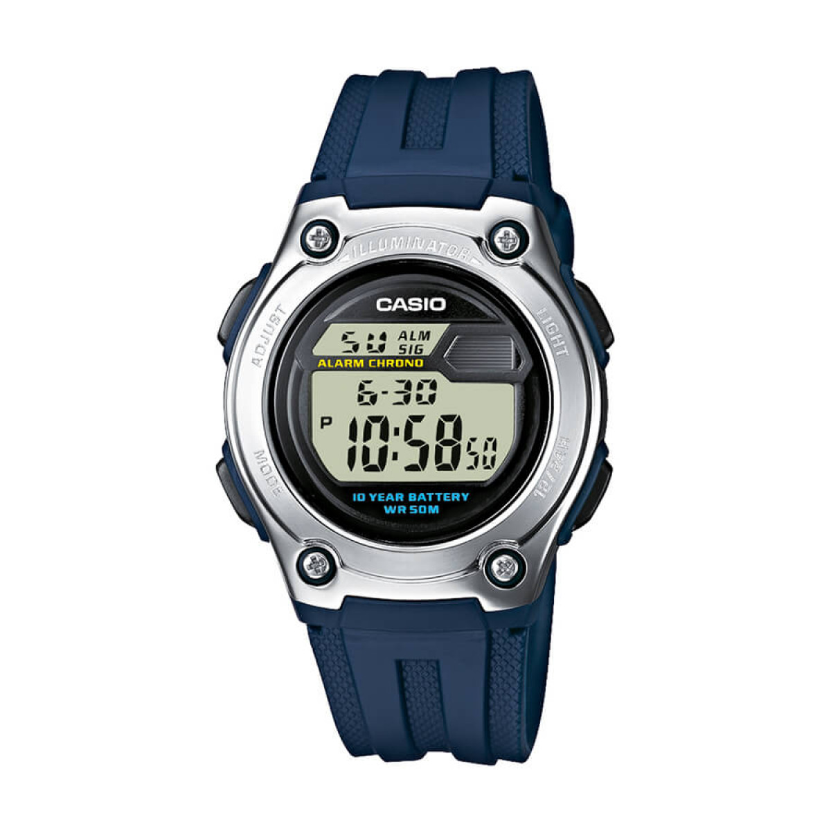 Часовник Casio W-211-2AVES
