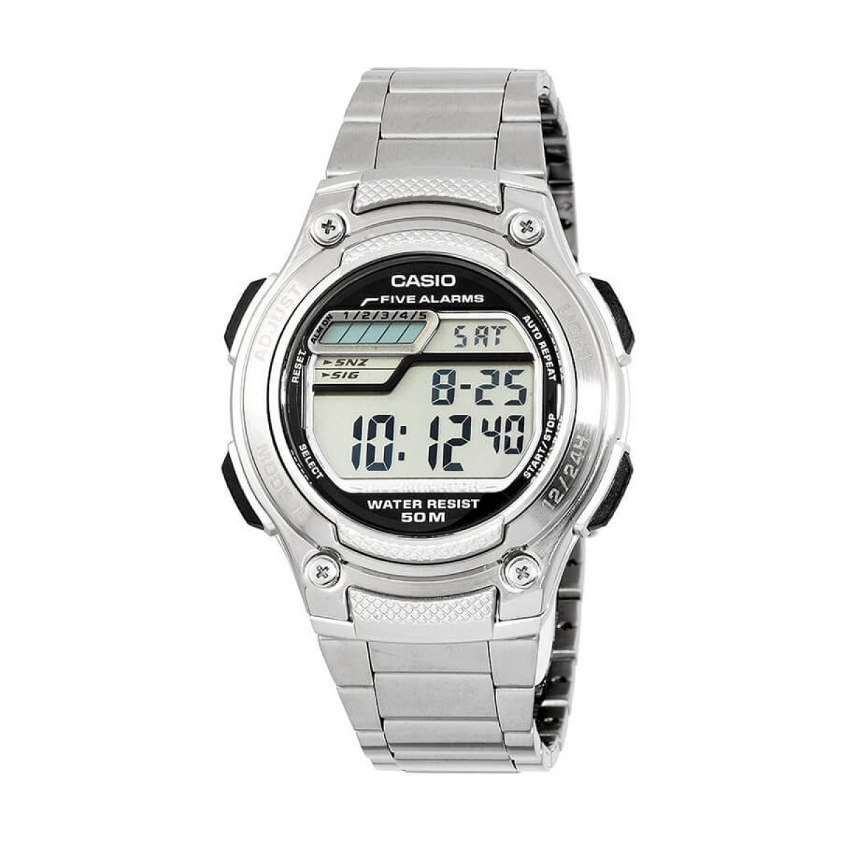 Часовник Casio W-212HD-1AVEF