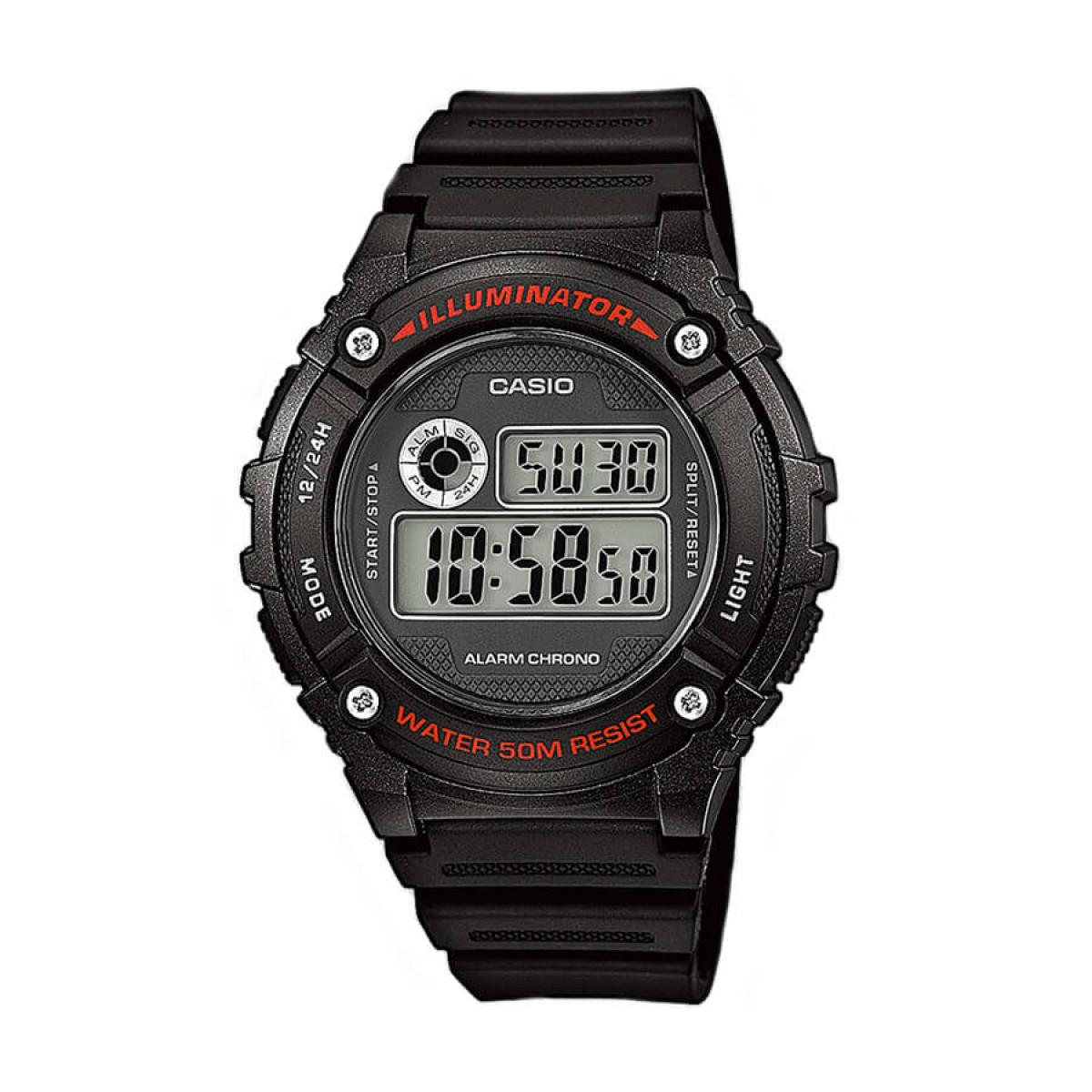 Часовник Casio W-216H-1AVEF