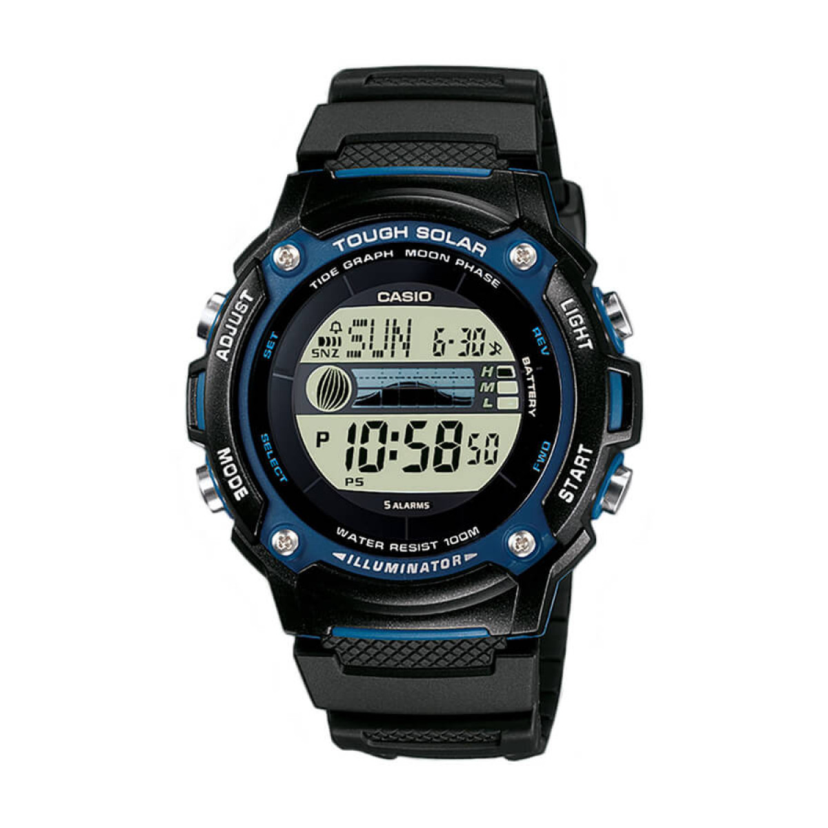 Часовник Casio W-S210H-1AVEG