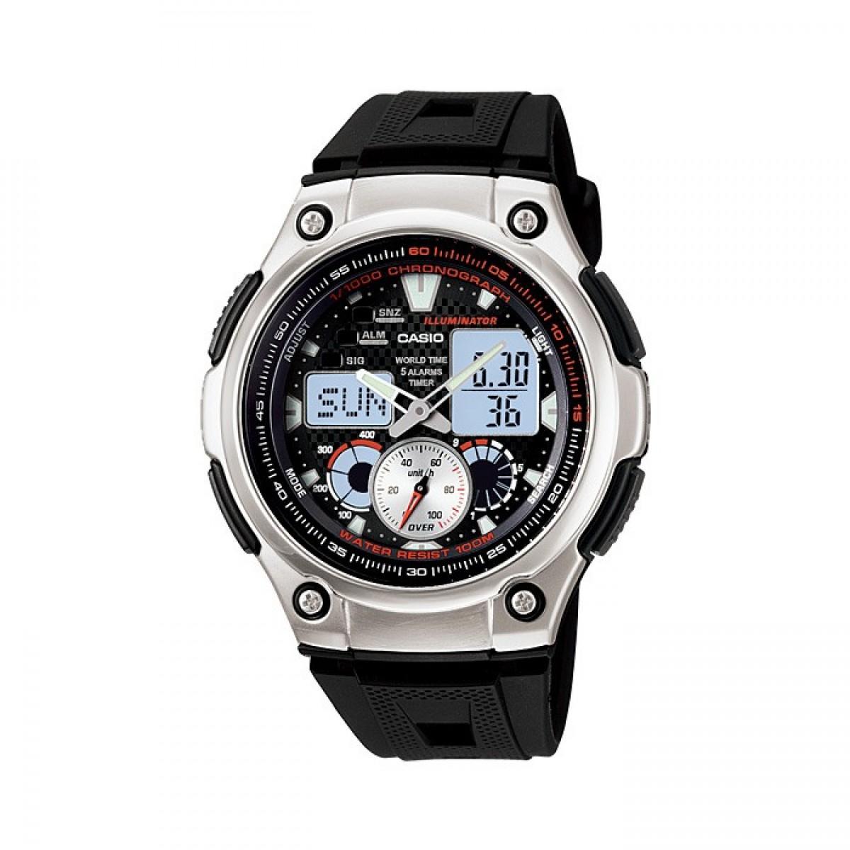 Часовник Casio AQ-190W-1AVEF