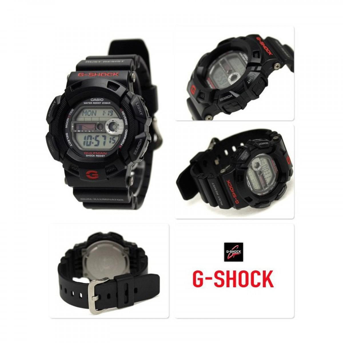 Часовник Casio G-Shock Gulfman G-9100-1ER