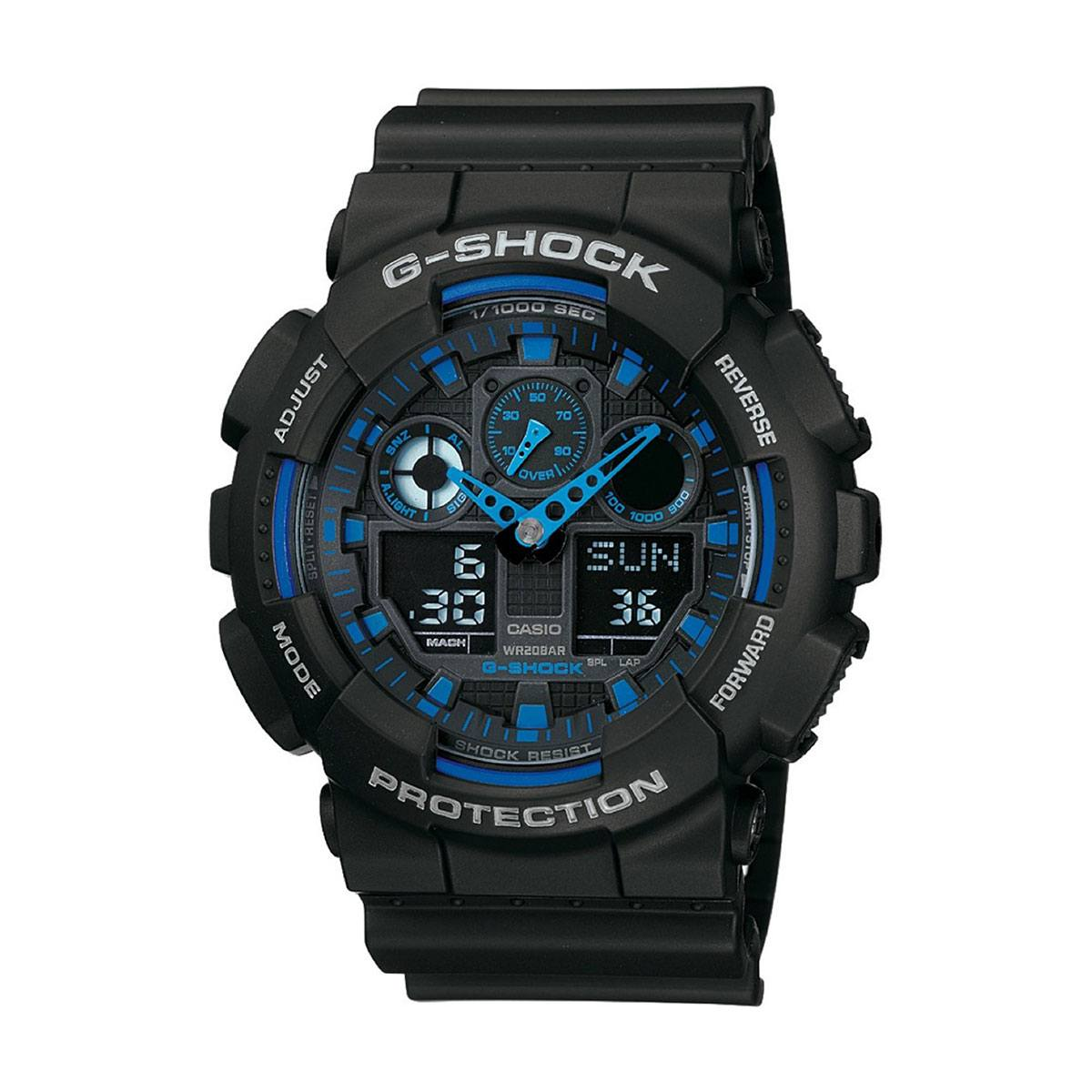 Часовник Casio G-Shock GA-100-1A2ER