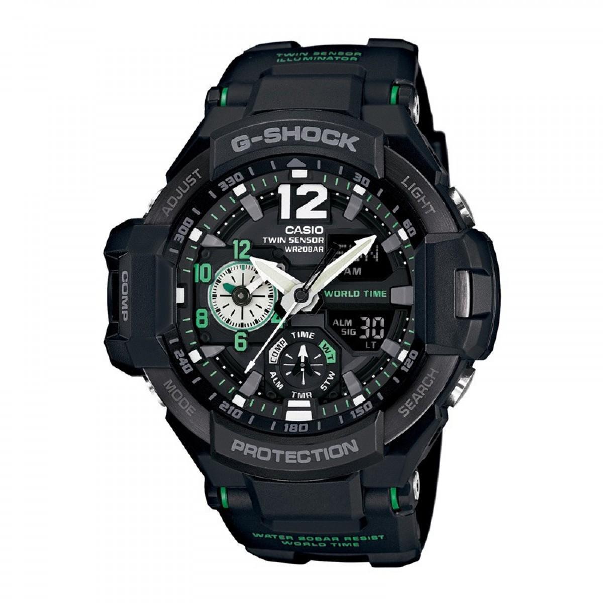 Часовник Casio G-Shock Gravitymaster GA-1100-1A3ER
