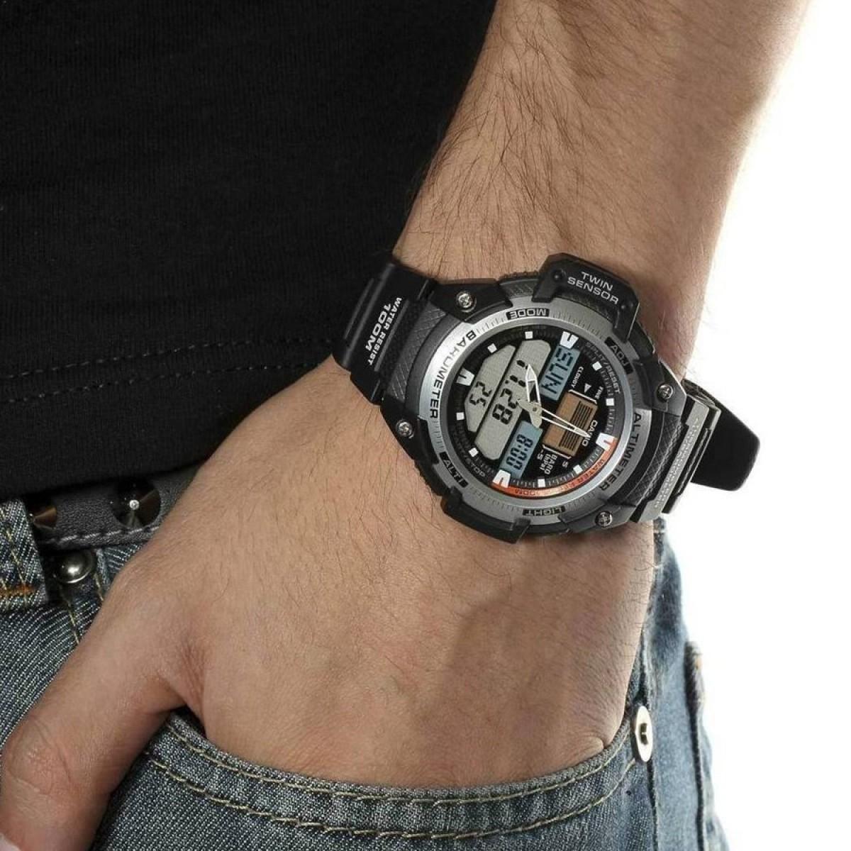 Часовник Casio SGW-400H-1BVER