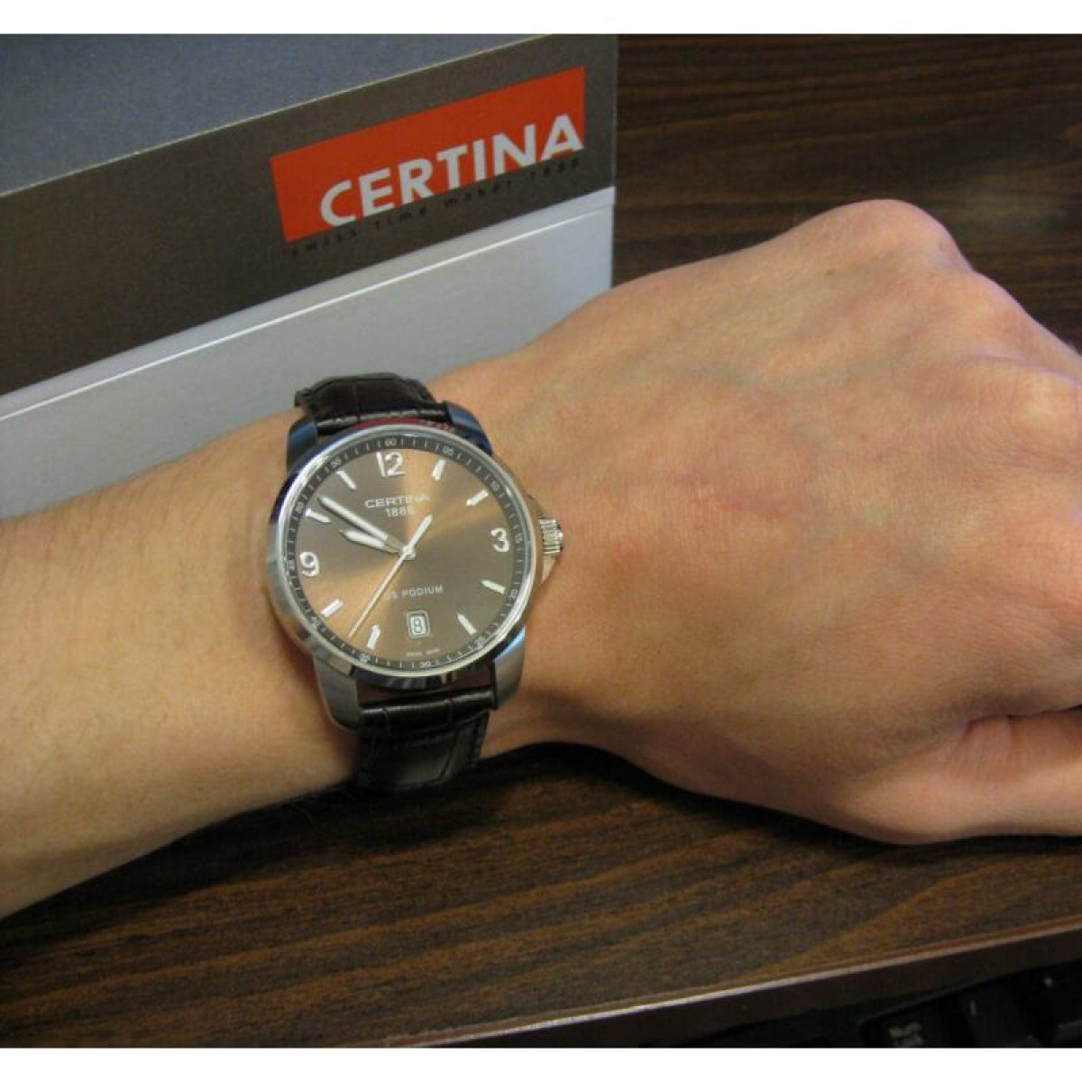 Часовник Certina C001.410.16.297.00