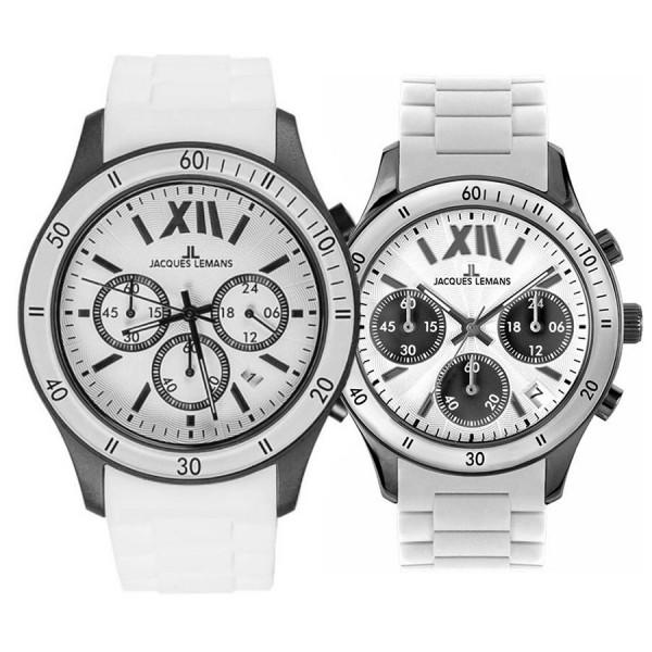 Комплект часовници за двойки Jacques Lemans 1-1586P & 1-1587 P