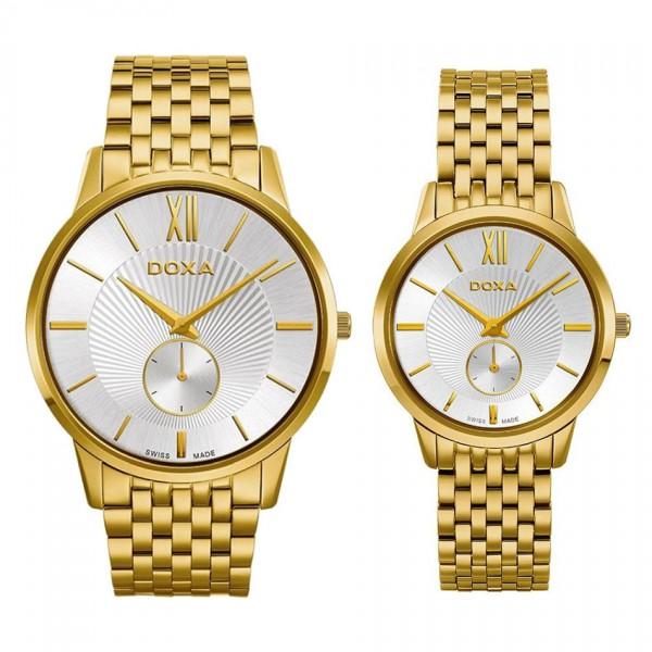 Комплект часовници за двойки Doxa 105.30.022.30 & 105.35.022.30