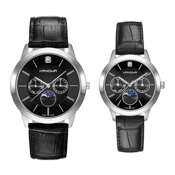 Комплект часовници за двойки Hanowa 16-4056.04.007 & 16-6056.04.007