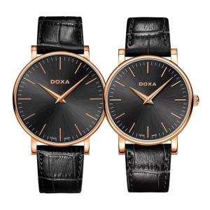 Комплект часовници за двойки Doxa 173.90.101.01 & 173.95.101.01