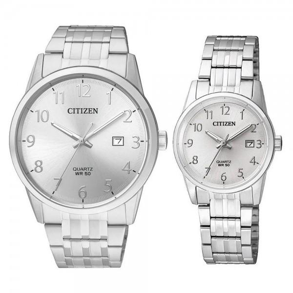 Комплект часовници за двойки Citizen BI5000-52B & EU6000-57B
