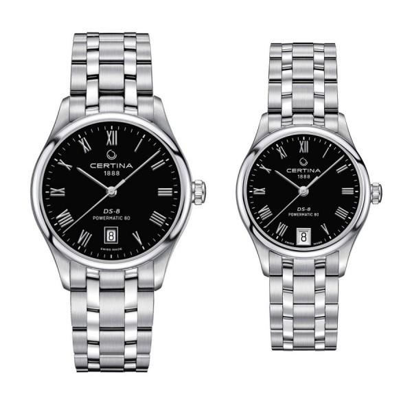 Комплект часовници за двойки Certina C033.407.11.053.00 & C033.207.11.053.00