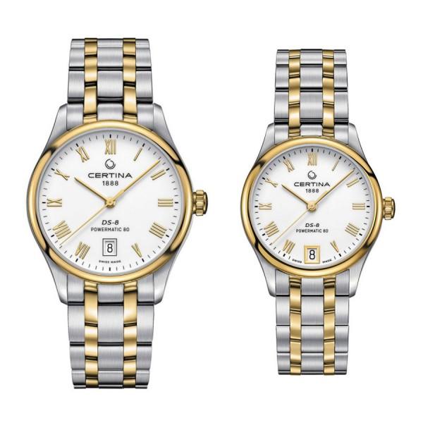 Комплект часовници за двойки Certina C033.407.22.013.00 & C033.207.22.013.00