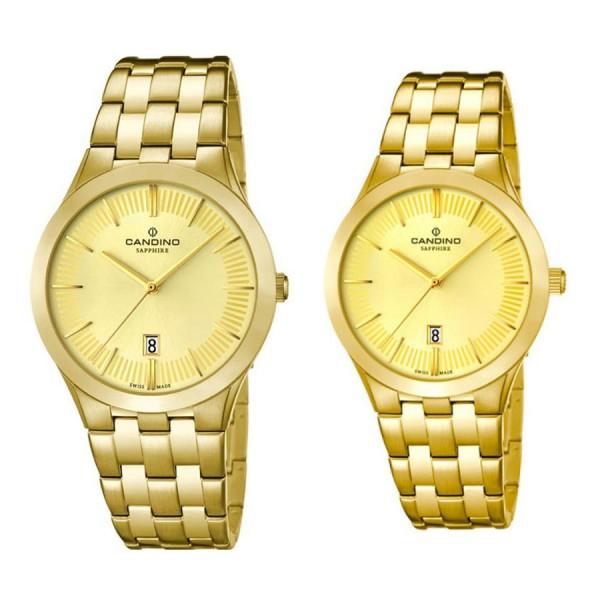 Комплект часовници за двойки Candino C4541/2 & C4545/2