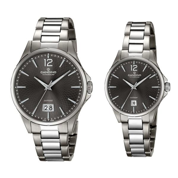 Комплект часовници за двойки Candino C4607/3 & C4608/3