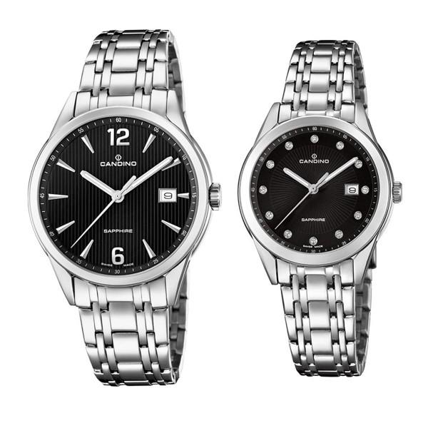 Комплект часовници за двойки Candino C4614/4 & C4615/4