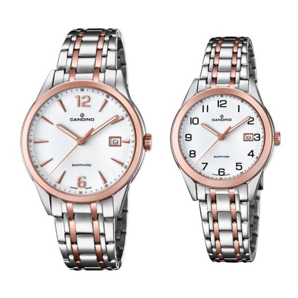 Комплект часовници за двойки Candino C4616/2 & C4617/2